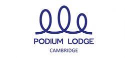 Podium Lodge Cambridge logo
